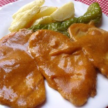 Lomo en salsa