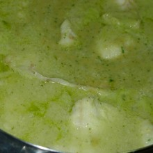 Salsa verde para pescado